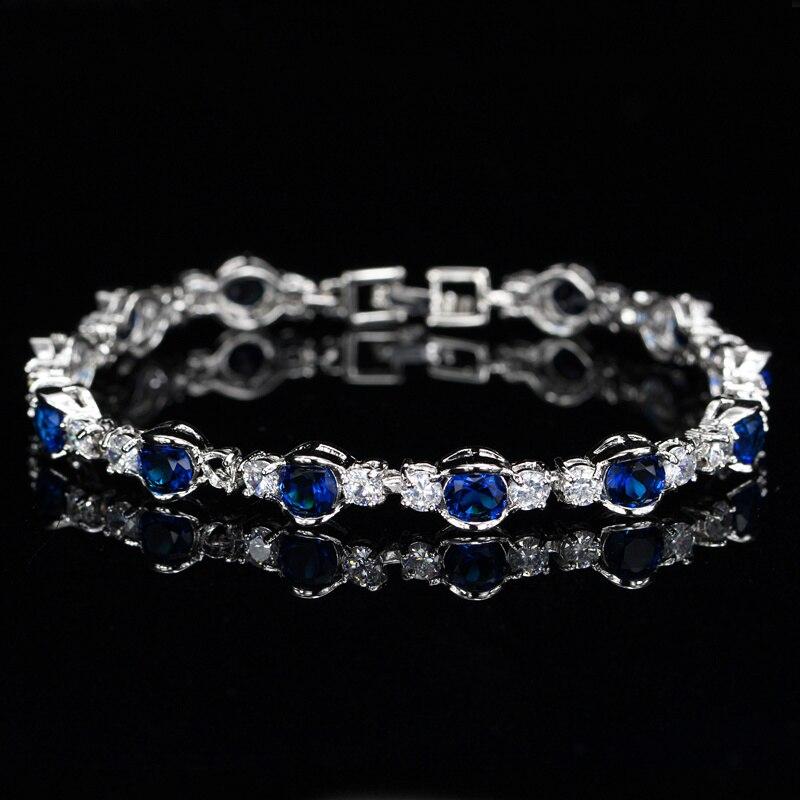 Sapphire Blue Bracelets