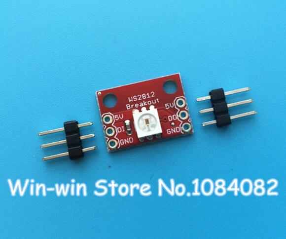 10pcs New WS2812 RGB LED Breakout Module