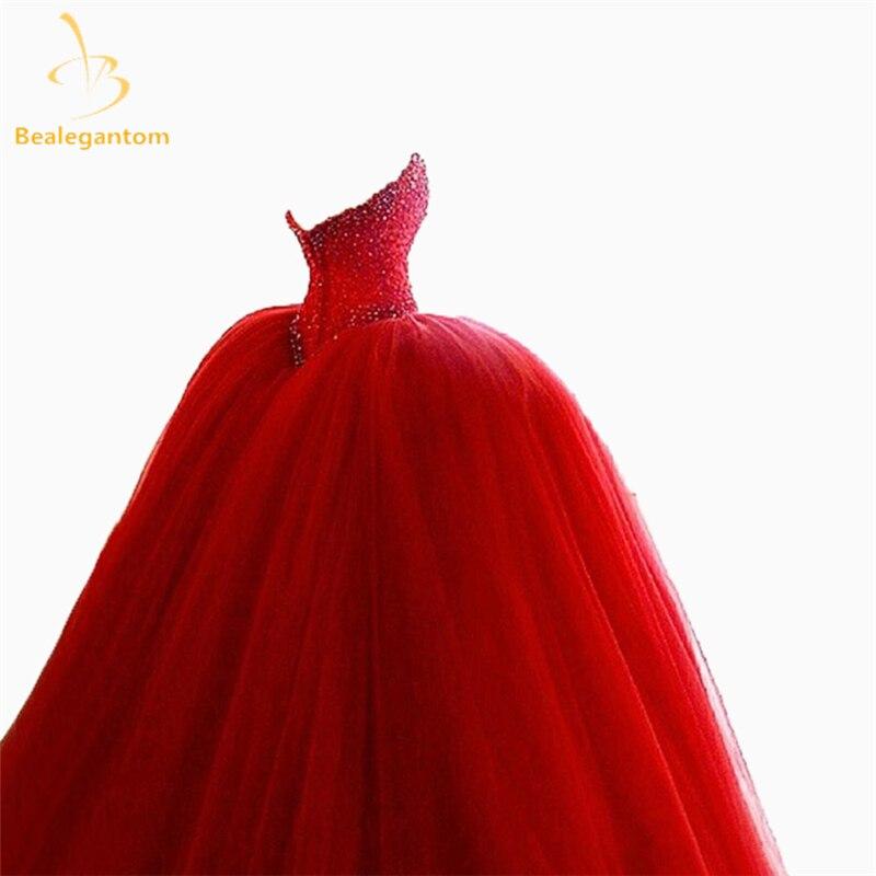Bealegantom Red Sweetheart Quinceanera Suknie 2017 Suknia Balowa - Suknie specjalne okazje - Zdjęcie 5