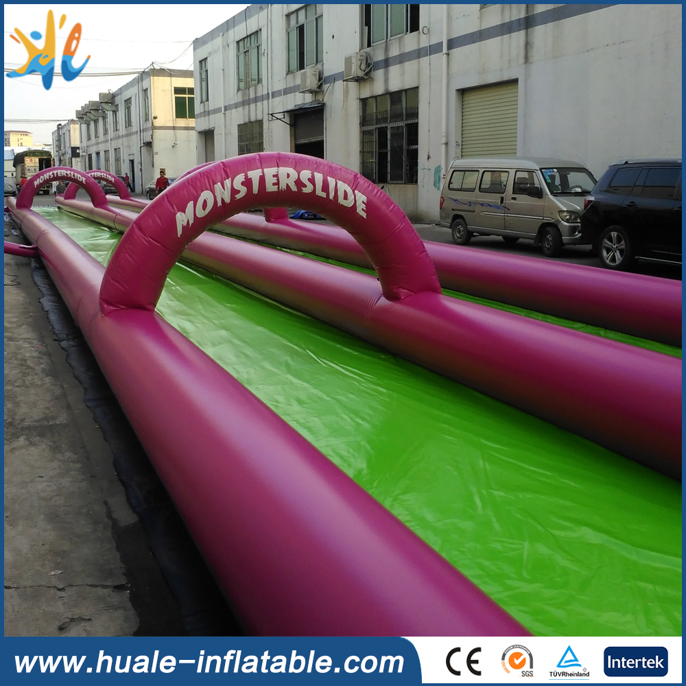 Inflatable Water Slide With Price: Plato PVC Tarpaulin 2016 Factory Price Outdoor Long Giant