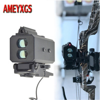 1pc Archery Mini Laser Range Finder 700m Metal Alloy High Quality Hunting Rangefinders Crossbow Hunting Accessory