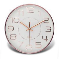 Wall Clock Modern Design Living Room Large Clocks For Wall Quartz European Watches Creative Silent Watch For Bedroom Simple