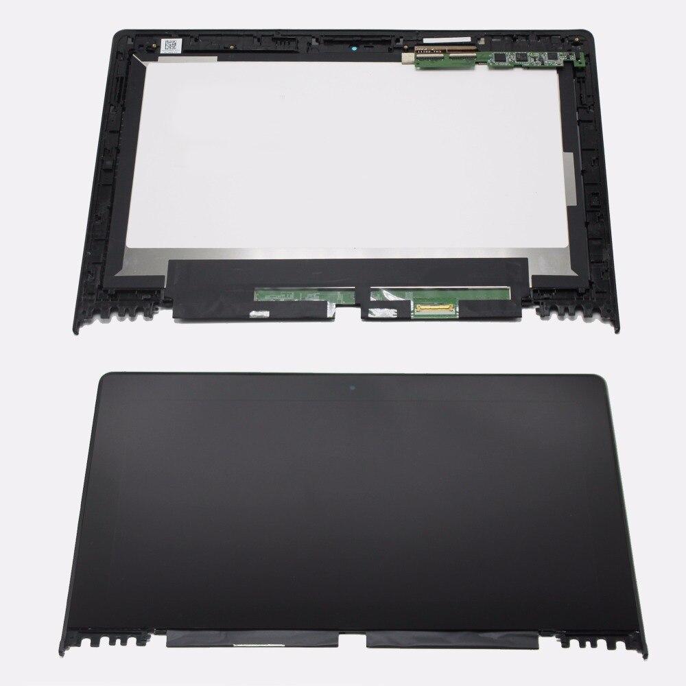 11.6 Pour Lenovo Ideapad Yoga 2 11 20332/20428 Panneau D'affichage D'affichage à cristaux liquides de Module + Numériseur À Écran Tactile + Cadre 1366X768 Win 8