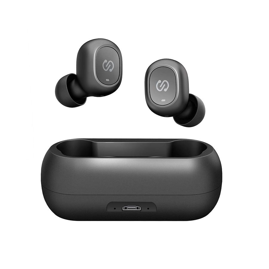 SoundPEATS TWS Bluetooth 5.0 Mini Earphones In Ear Wireless Earphones Stereo Bass Sound True Wireless Earbuds for Iphone Xiaomi