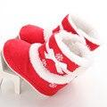 Bebé suave suela botas de nieve suaves cuna shoes niño botas de bebé niñas boot shoes