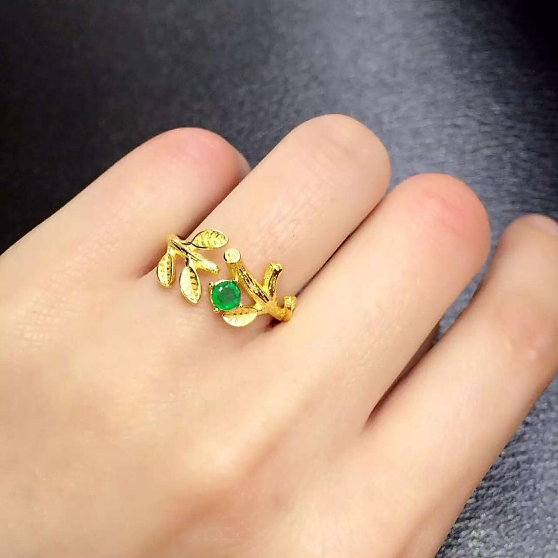 Jewelry Anillos Qi Xuan_Fashion Jewelry_Colombia Green Stone Flower Rings_S925 Solid Silver Woman Rings_Factory Directly Sales Jewelry Anillos Qi Xuan_Fashion Jewelry_Colombia Green Stone Flower Rings_S925 Solid Silver Woman Rings_Factory Directly Sales