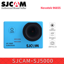 Original SJCAM SJ5000 Basic action camera Diving 30M waterproof yi Mini Outdoor Sport Camcorder DV bicycle record sj helmet cam