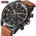 CURREN Watch Mens Luxury Brand Casual Watch Quartz Clock Men Sport Watches Men's Leather Military Wrist Watch Relogio Masculino