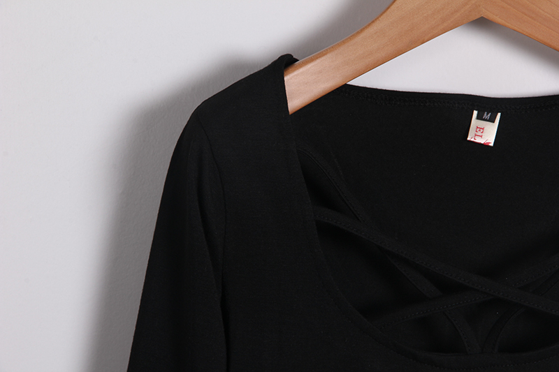 HTB1yNbzMVXXXXaKXpXXq6xXFXXXo - Autumn T Shirt Women Long Sleeve Slim Fit Solid
