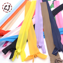 New 6pcs/lot brand Invisible zipper 25cm/40cm/60cm Back cushion Skirt Hidden 3# Nylon Zipper for sewing/Garment accessories DIY