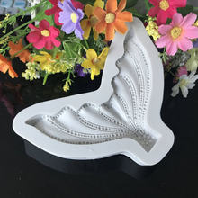人魚の尾シリコーンフォンダン金型ケーキデコレーティングツールキッチンツールベーキングgumpasteチョコレートキャンディ鋳型H874