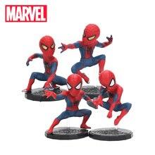 Игрушки Marvel, коллекционные фигурки из ПВХ, супергерои из фильмов «Мстители: Финал» и «Мстители: Война бесконечности», набор экшен-фигурок Человека-паука размером 8 см
