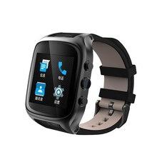 Original X01S Smart uhr Android 5.1 1,54 zoll 3G Smartwatch Telefon MTK6572 1,3 GHz Dual Core Wasserdichte GPS Schwerkraft Schrittzähler