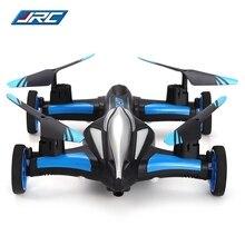Original H23 RC Quadcopter JJRC Tierra/Cielo 2.4G 4CH 6-Axis Coche Volador girocompás RC Drone con Flip 3D de Una sola tecla de Retorno Sin Cabeza modo