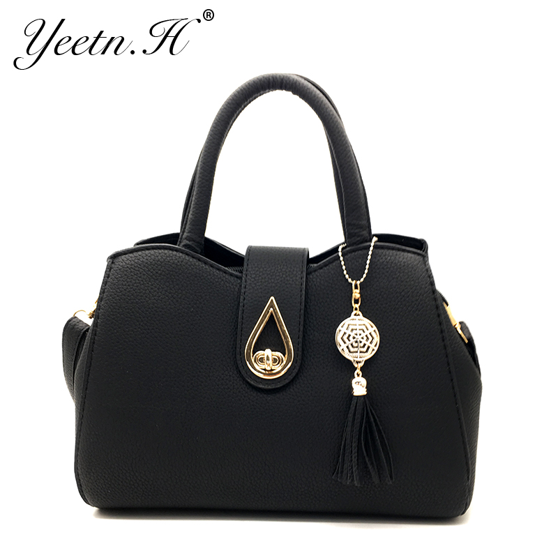 Yeetn.H New Arrival Woman Bag Fashion Handbag Shoulder Bag Classic PU - Beg tangan - Foto 1
