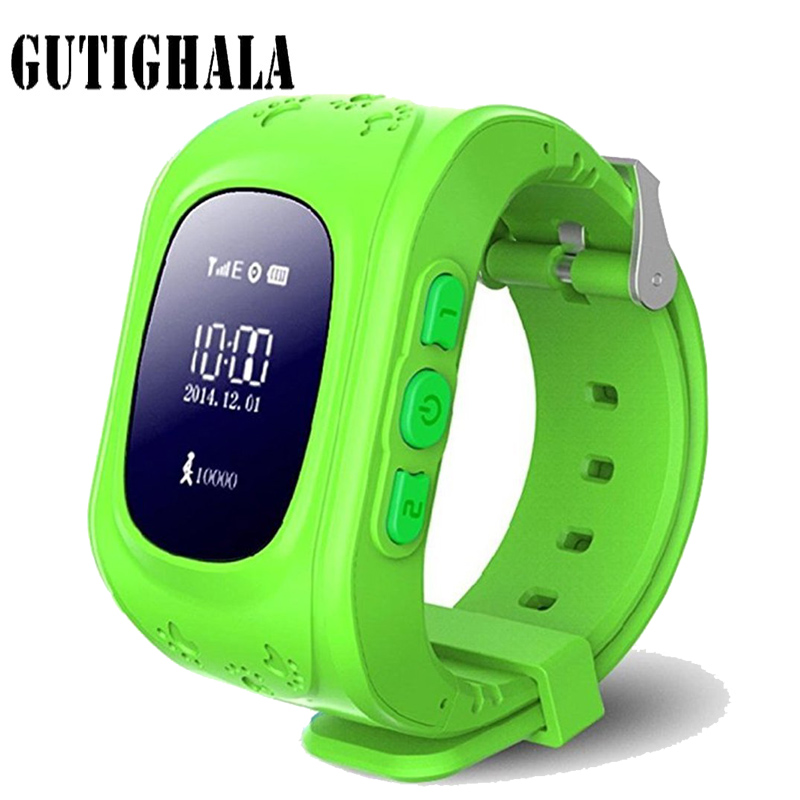 Gutighala Kids Smartwatch Q50 SOS Call GPS Locator Tracker Baby Smart Watch with Sim card smart watch for Children PK Q90 Q730