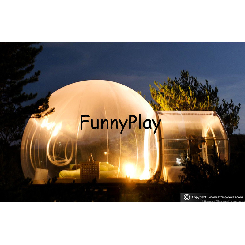 Outdoor Camping Bubble Tent,Inflatable Bubble lawn Room,inflatable Transparent camping house tents,inflatable clear dome tent inflatable coffee rest room inflatable family camping bubble tent the event struct house dome outdoor clear show tent for photo