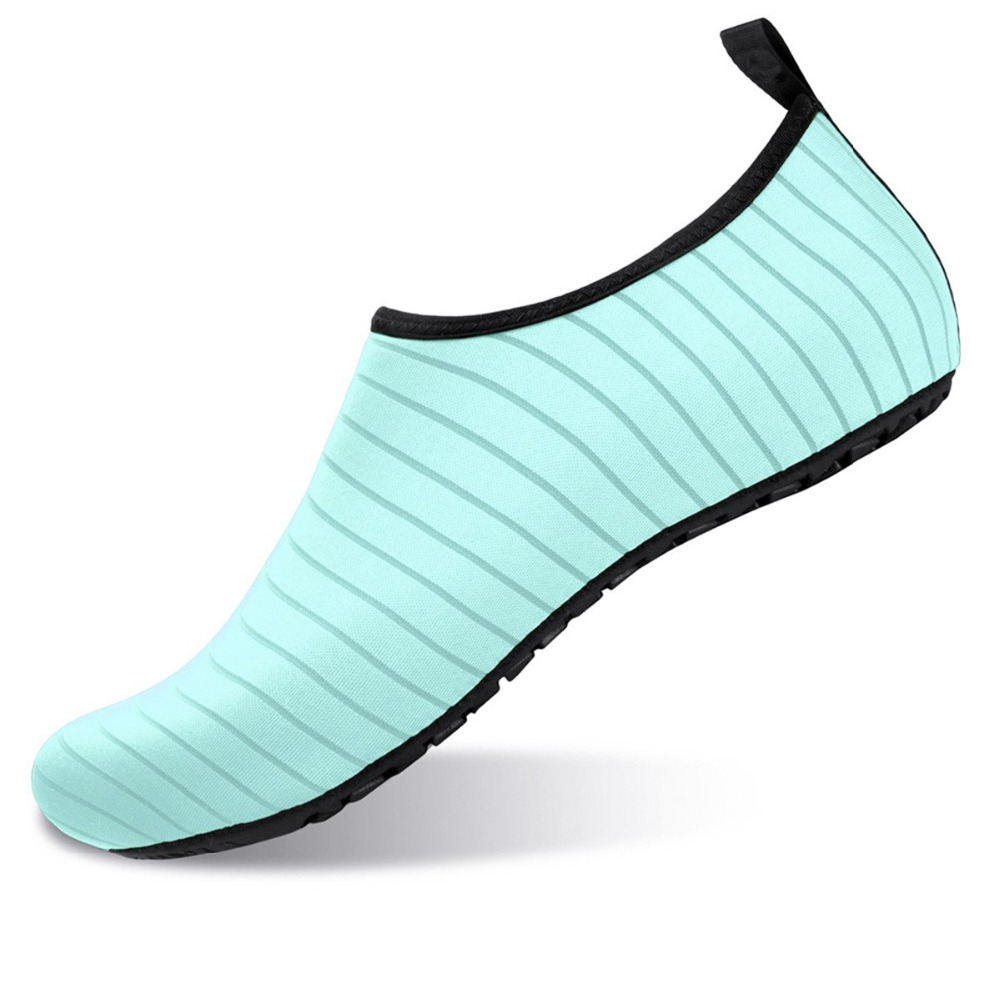 Summer Water Shoes Men Swimming Shoes Aqua Beach Shoes Big Plus Size Sneaker for Men Striped Colorful zapatos hombre 5
