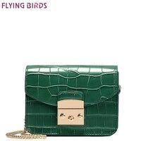 FLYING BIRDS Mini Bag Women S Cross Body Bags Famous Brand Crocodile Bags Women Handbags Bolsas