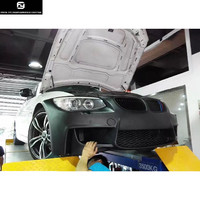 E92 325i 330i 335i 3 series 1M front bumper FRP front bumper racing grills For BMW E92 E93 Car body kit 10 12