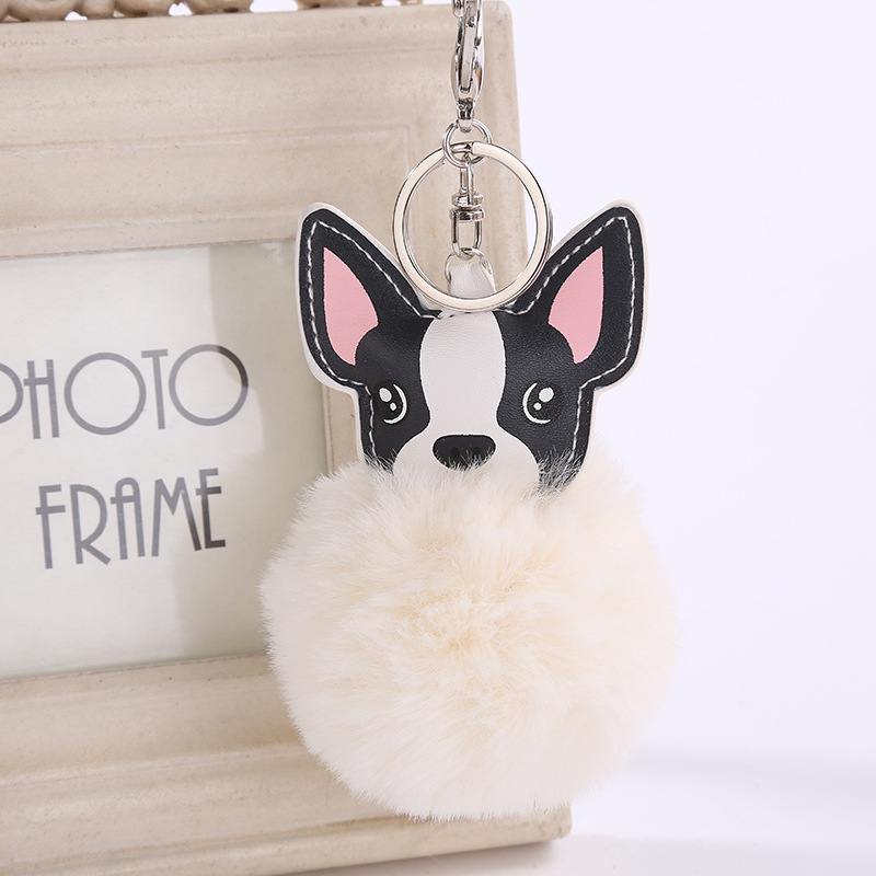 Ultra Cute Pink Stripe Crystal Tiger Key Ring or Bag Charm Great Gift Idea