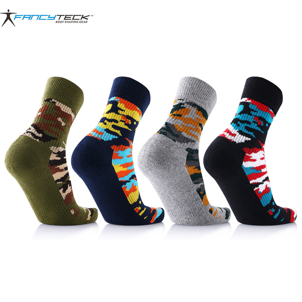 8 pairs/lot Mens Funny Happy Socks Camouflage Colorful Men Socks Cotton Mens Short Warm Socks Breathable And Comfortable