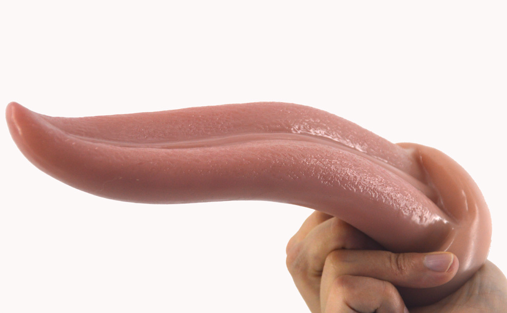 FAAK Masturbation tongue skin quality simulation adult fun G point passion super large long anal plug penis in Dildos from Beauty Health