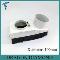 Router di CNC Accessori Dust collector Copertura cnc 3kw motore mandrino dispositivo collettore di polveri D100mm