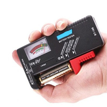 High quality Universal AA / AAA / CD 9V 1.5V Button Cell Battery Volt Tester  measuring instruments  Black все цены