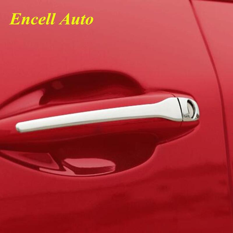 Дверь Из Нержавеющей Стали Ручка Чехол Для Peugeot 207 (2006-2010) 308 (2008-2010) 407(2004-2010) Ситроен С4 (2004-2010) Стайлинга Автомобилей