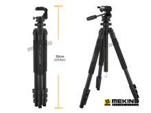Professional Camera Tripod 172cm Aluminium stand with 3-way ballhead & Bag tripod tripe extensor para foto