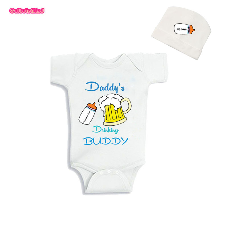 BABY BOY,GIRL,DADDY/'S DRINKING BUDDY FUNNY  VEST,BODYSUIT,GIFT CLOTHES