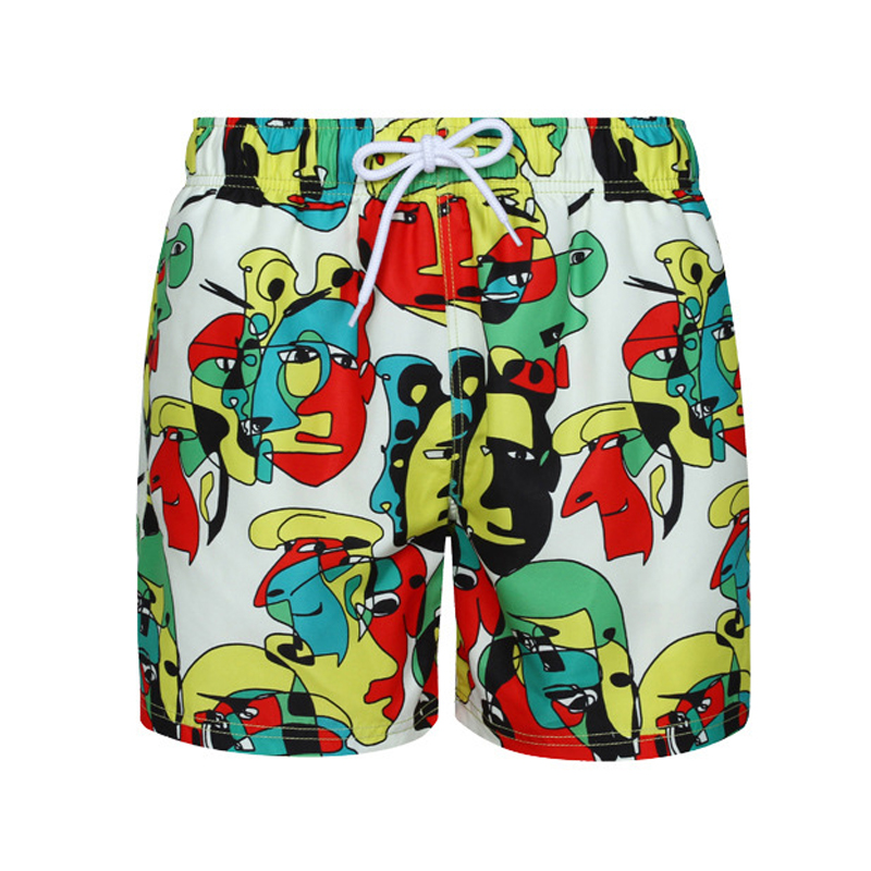 2019 New Quick Dry Pocket Quick Dry Swimming Shorts For Men Swimwear Man Swimsuit Swim Trunks Summer Bathing Beach Wear Surf 318