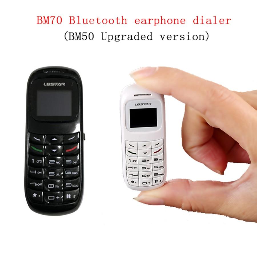 BM70 Mini Dialer Bluetooth Kopfhörer Handy Headset Stereo Bass Magische Stimme SIM Karte Kopfhörer für iPhone xiaomi pk BM50