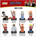8PCS Marvel SuperHeroes Star wars Harry Potter Friends Hermione Jean Granger Ron Weasley Gifts   Best Kits Toys