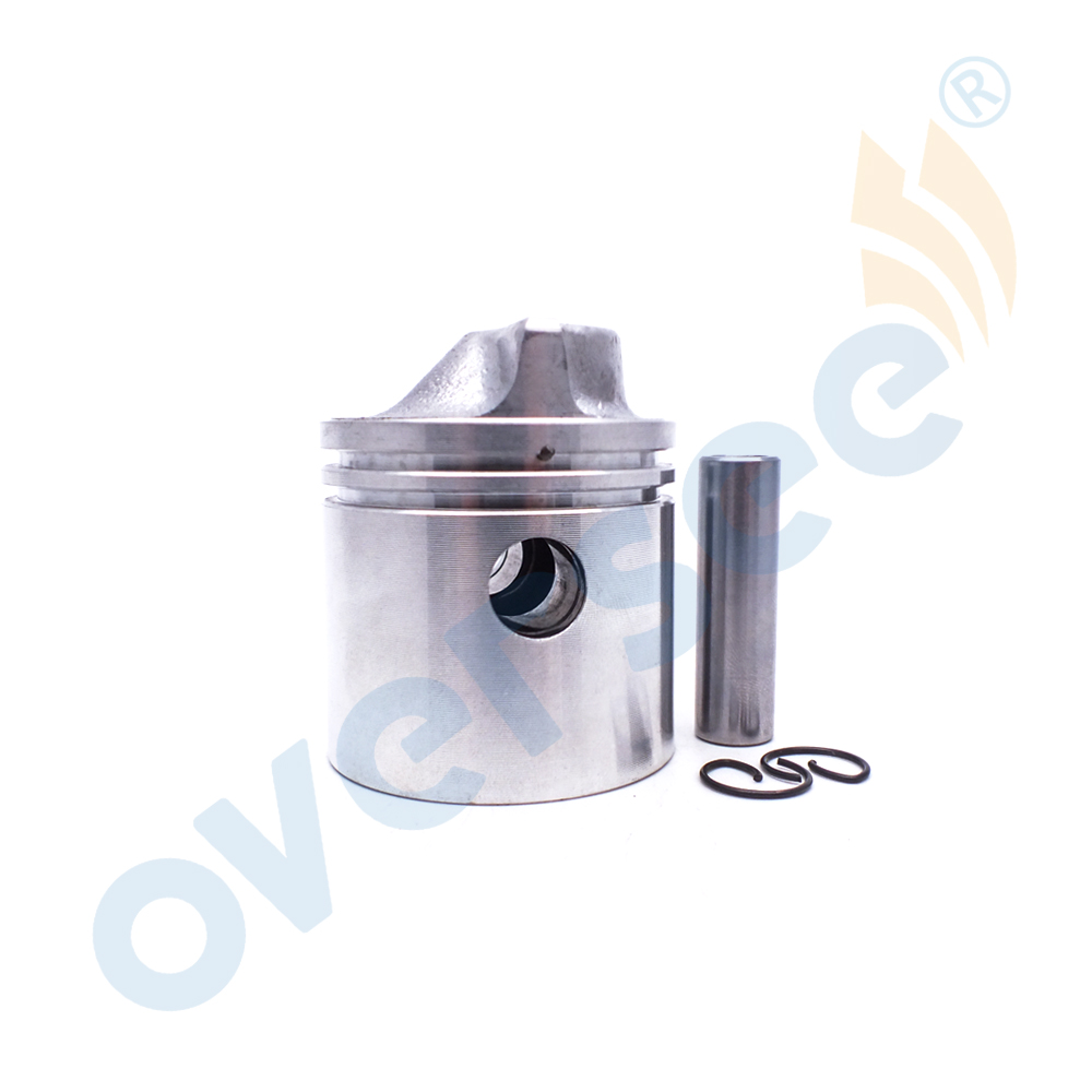 6G1 11631 00 98 Piston Set D:50mm For Yamaha 6HP 8HP Outboard Engine boat Motor brand new aftermarket Part