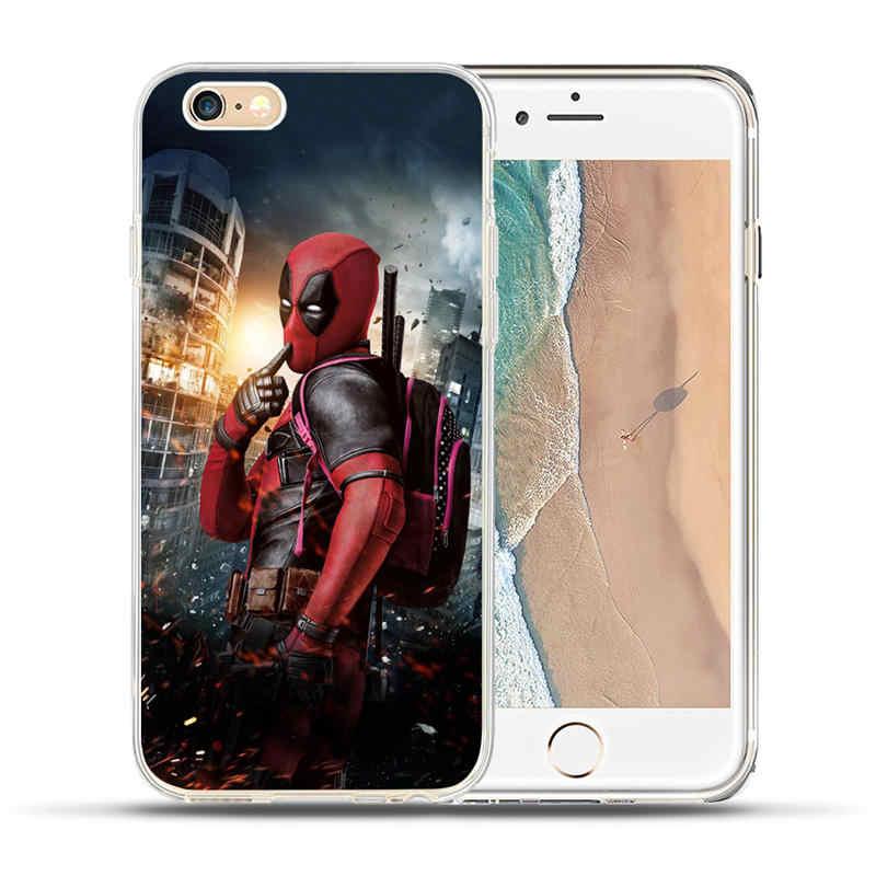 Роскошный чехол Marvel Avengers Heroes Coque для iPhone X 8 7 6 6 S Plus 5 5S SE, чехол для iPhone 6 6 S 7 8 fundas Capinha Etui