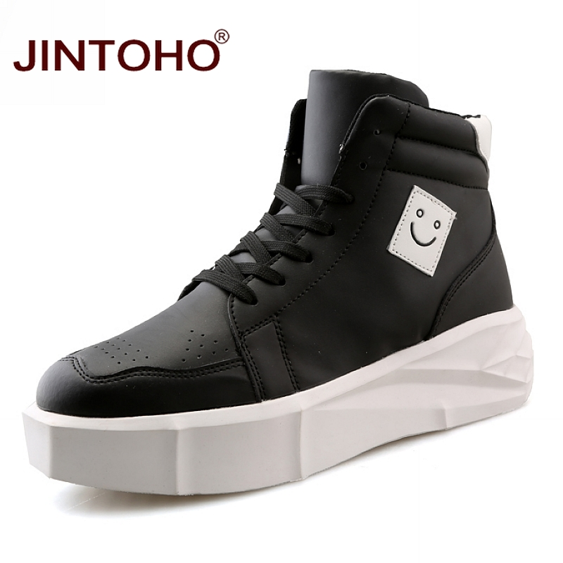 100% Wahr Jintoho Mode Marke Männer Leder Stiefel Casual Männer Winter Schuhe Plattform Stiefel Für Männer Wasserdichte Männliche Stiefel 2018 Winter Stiefel Erfrischung
