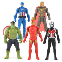 One Piece Iron Man Avengers Hulk Captain America Superman Ant-man Thor Action Figure Marvel Gift Collection Of Children Toys