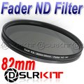 TIANYA 82mm 82 Fader Neutral Density ND Filter ND2 to ND400 ND8