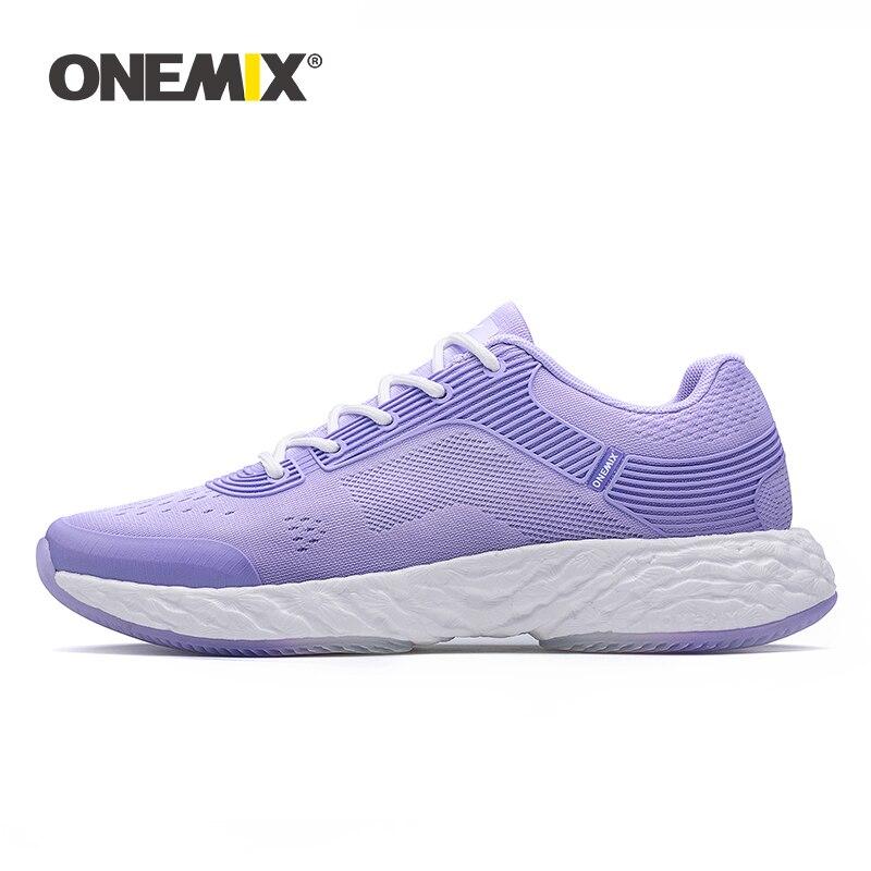 ONEMIX Tênis Running Shoes Para As Mulheres de Alta-tecnologia de Energia Tênis de Corrida de Maratona Rebote Super-58 Sola Macia Mulheres sneakers
