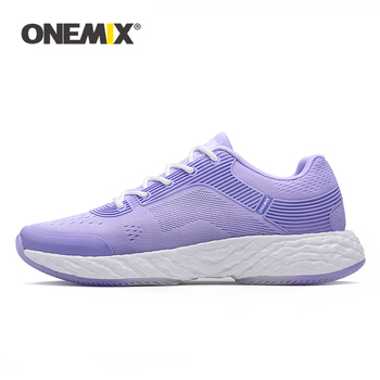 ONEMIX White Sneakers Running Shoes For Women High-tech Marathon Super Rebound-58 Soft Outsole - discount item  44% OFF Sneakers