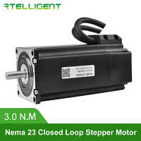 Rtelligent Nema 23 57A3EC 3.0N.M 4.0A 2 Phase Hybird CNC Closed Loop Stepper Motor Easy Servo Motor Step-servo with Encoder