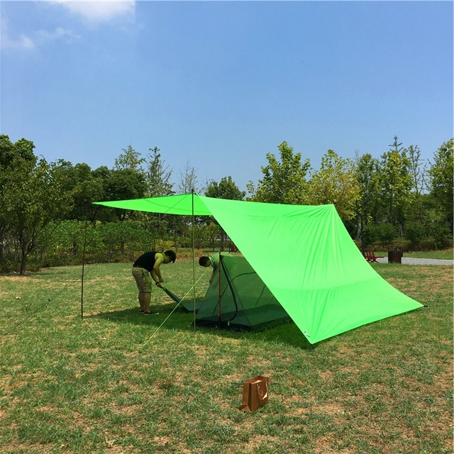 Hot Selling Ultralight Pyramid Mosquito net Tent single Person Mosquito net Bed Tentadded with Ripstop Rain FlySunshade Tarp & Online Shop Hot Selling Ultralight Pyramid Mosquito net Tent ...