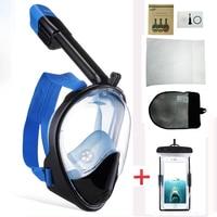 Mask For Diving Full Face Snorkeling Mask Scuba Diving Mask Underwater Hunting Masks Anti fog Diving Set Snorkeling Equipment