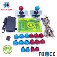 Classic 2 Player DIY Arcade Kit Pandora box 6 1300 in 1 game board & original SANWA joystick and Push Button for Arcade Machine