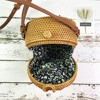 Bali Island Handmade Rattan Bow Circular Straw Woven 5