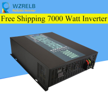 Peak Full Power 7000W Solar Inverter Pure Sine Wave Inverter Car Power Inverter 12V/24V to 120V/220V DC to AC Voltage Converter 3000w solar inverter 24v to 220v pure sine wave inverter car power auto battery voltage converter 12v 48v dc to 110 120v 220v ac