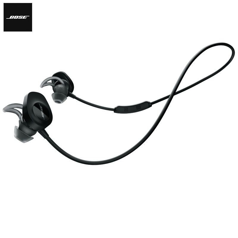 BOSE New brand SoundSport Wireless Sport Stereo Earphone bluetooth Sweat Noise Resistant Headset With Mic For iPhone Smartphone new metal magnetic wireless bluetooth headphone sport headset hands fress hifi earphone with mic for iphone samsung phones