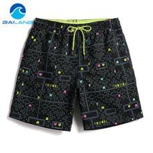 Gailang Brand Men Beach Shorts Board Boxer Trunks Boardshorts Mens Fashion Swimwear Swimsuits Casual Active Bottoms New